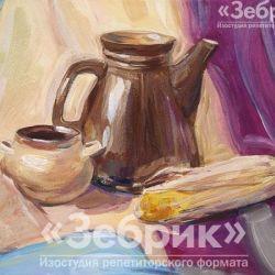 «Учебный натюрморт» Дина Таболич, 12 лет
