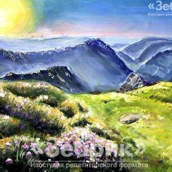 «Лавандовый пейзаж» Диана Кожухарь, 13 лет