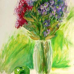 «Осенний натюрморт» Даша Поблагуева, 12 лет