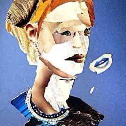 «Портрет-коллаж» Полина Барсукова, 11 лет