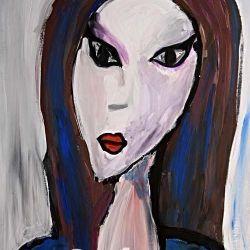 «Портрет незнакомки» Устинья Гайчук, 12 лет