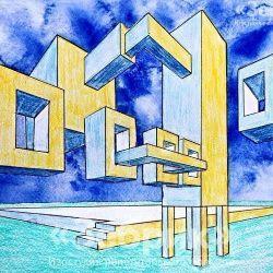 «Архитектурная композиция» Наталья Дубинина, 22 года